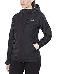 North Face W Dryzzle Jacket - Chaqueta para mujer, color negro, talla M