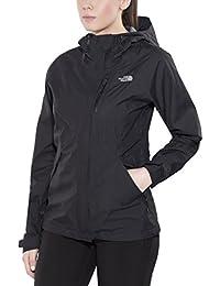 North Face W Dryzzle Jacket - Chaqueta para mujer, color negro, talla L