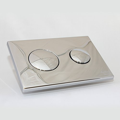 Dual Flush Plate (Armitage Shanks S4397AA Chrome Conceala 2 Dual Flush Push Button Plate by Armitage Shanks)