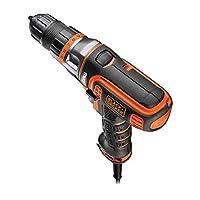 Stanley Black & Decker MT350K MultiEvo Çok Amaçlı Matkap 300 Watt 10 mm, Turuncu/Siyah, 1 Adet