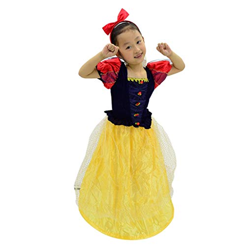 Horrorkostüm Halloween Kindergartenkinder zeigen Kostüm Mädchen Cosplay Schnee-Prinzessin Rock Tutu Kostüm Halloweenkostüm (Größe : - Blau Tutu M&m Teen Kostüm