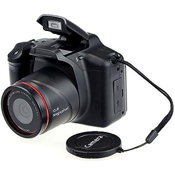 Cámara de vídeo Digital SLR con Zoom Digital 4X y Pantalla LCD de 2,8 Pulgadas (HD 720P 12MP) por Express Panda®