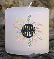 Idea Regalo - Nany Candle candela personalizzata artigianale stampato
