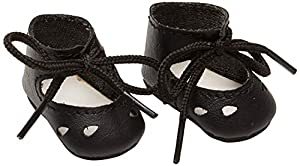 Zapato de Barniz Sturm 3843-25 para muñecas, Color Negro