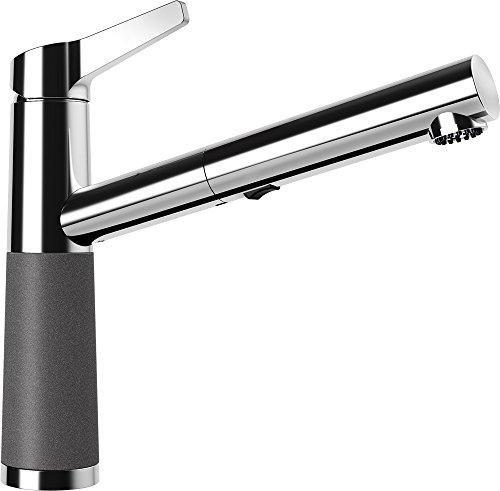 Preisvergleich Produktbild SCHOCK CRISTADUR® Armatur SC-510 STONE mit Zugauslauf