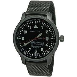 Messerschmitt Aviator Watch Special Model Speed Record Me 209M Ronda Swiss Movement 5ATM with Milanese bracelet