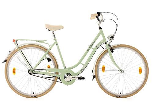KS Cycling Damen Fahrrad Casino Mintgrün 3 Gänge RH 54 cm Grün, 28
