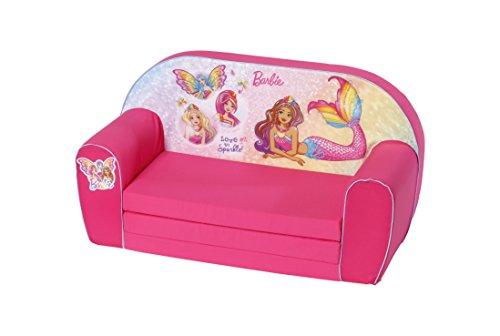 Knorrtoys 84684 Barbie Kindersofa, pink -