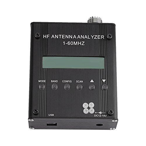MR300 Digital Kurzwellen Antennen Analysator Meter Standwellen Impedanz Kapazitäts Tester für Ham Radio 1-60MHz Meter Ham Radio