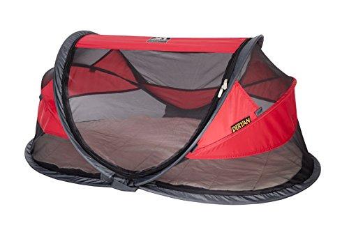 Reisebett/Zelt Deryan Travel-cot Baby Luxe, Farbe rot