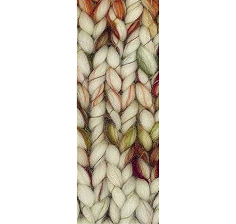Wolle Kreativ Weekend Color Lana Grossa 109 taupe//rot//orangebraun 100 g