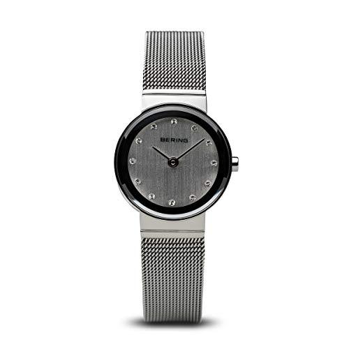 BERING Unisex-Armbanduhr Analog Quarz Edelstahl 10122-000