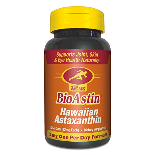 BioAstin, Hawaiian Astaxanthin, 12 mg, 50 Gel Caps