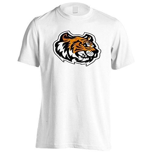 (Tiger Kopf Maskottchen-Logo Herren T-Shirt u621m)