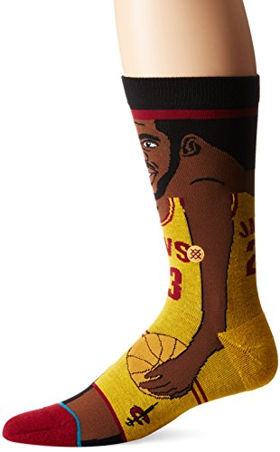 Stance NBA Legends Socks Lebron James - Yellow-Large