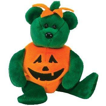 Ty Beanie Babies Tricky - Halloween Bear -