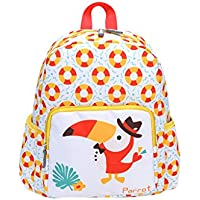 FBGood Studenten Karikatur Tier Rucksäcke Kinder Umhängetasche Reisetasche Satchel Kleinkind Schultasche Lässig Anti-Verlorene Taschen Schulrucksack