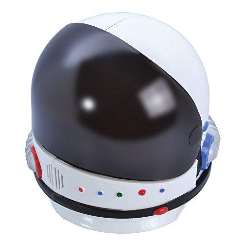 Kostüm Kosmonauten - Bristol Novelty bh648Astronaut Helm, mehrfarbig, one size