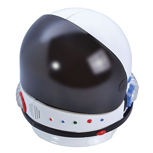 8Astronaut Helm, mehrfarbig, one size (Black Magic Man Kostüm)