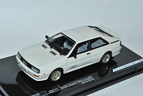 Preisvergleich Produktbild Audi Quattro Coupe Alpine Weiss 1980-1991 1/43 Vitesse Modell Auto mit individiuellem Wunschkennzeichen