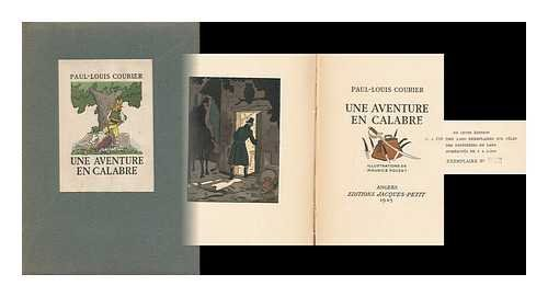 Une Aventure En Calabre / Paul-Louis Courier, Illustrations De Maurice Pouzet