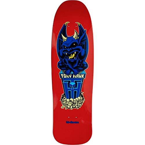 Birdhouse Tony Hawk Gargoyle Old School Deck Red - 9.375