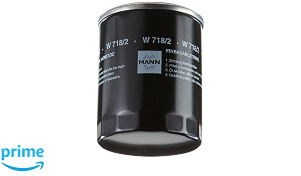 Mann+Hummel W7182 Filtro dellolio