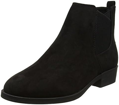 New Look Carlson, Chelsea Boots Femme, Noir (Noir), 40 EU