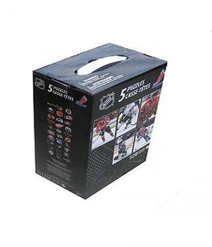 Preisvergleich Produktbild 2011 NHL Puzzles (5 x 250 Teile) NHL West