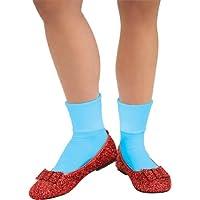 RUBIE'S Costume mago di OZ DOROTHY paillettes Deluxe per le scarpe