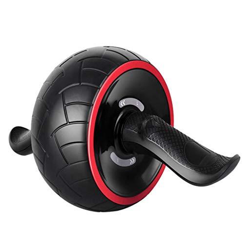 Bauchtrainer Abdominal Roller Ab Roller for Abs Workout Ab Roller Rad Übungsgeräte Ab Wheel Übung Stumm Ausrüstung Übung Und Fitness Rad (Color : Black, Size : 35 * 20 * 20CM)