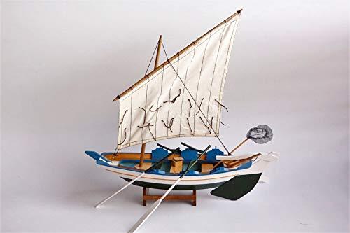 Bitacora barca gamela 40 x 37 cms no kit navale naútica modellismo legno