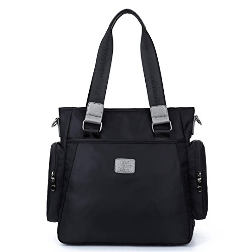 Wewod 1558, Borsa a zainetto donna viola 12.6(Length)*4.72(Width)*12.6(Height) inches nero