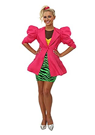 Fun Costumes Women S 80 S Valley Girl Amazon Co Uk Clothing