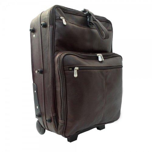 Piel Piel 22inch ruedas Traveler Piel Leather