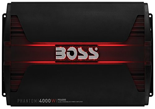 Boss Audio PD4000 Phantom 4000W Monoblock, Klasse D Amplifier - Boss Audio Car
