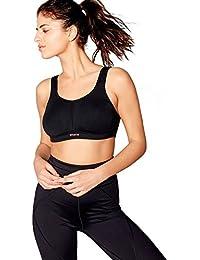 548cbfabd9c51 Debenhams Gorgeous Dd+ Womens Black Non-Wired Non-Padded Sports Bra