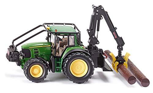 Siku-4063 Tracteur Forestier John Deere Véhicule Miniature, 4063, Multicolore