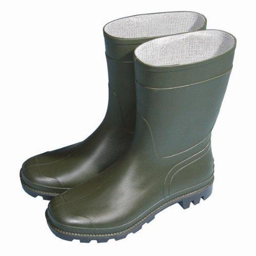 Town & country - wellington - bottes en caoutchoug de campagnes et de ville - taille 46 - mi-hautes vert