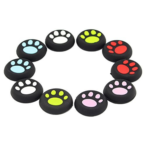Nährstoffe, Die Gehirn-funktion (Super Cat-Pad Style Daumengriff Stick Cover für Xbox 360 / Xbox One / PS4 / PS3 / PS2 Controller, aus Silikon Gummi, 10 Stück)