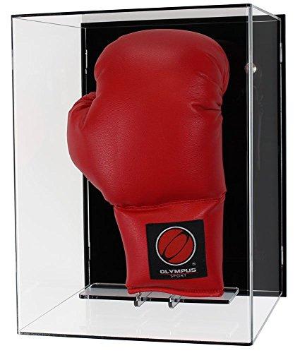 Plexiglas -Wand -Vitrine für einen Boxhandschuh