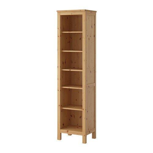 IKEA HEMNES Bücherregal in hellbraun; aus Massivholz; (49x197cm ...