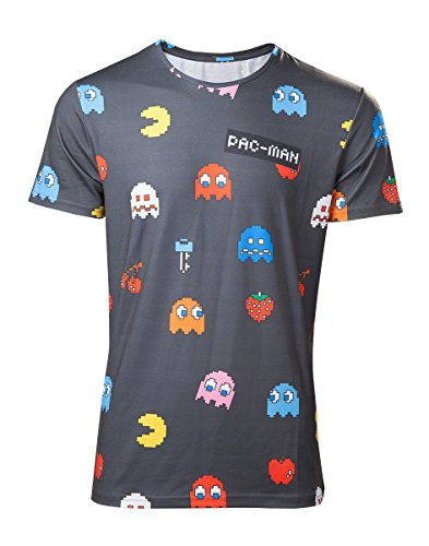 Men's Official Pac-Man Characters Tee - S to XXL
