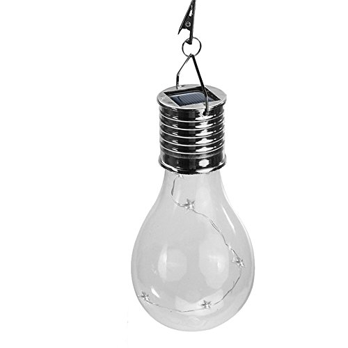 Waterproof Solar Light Bulb Rotatable Outdoor Garden Camping Hanging 5 LED Lighting Eco-Friendly Solar Lamp Bulb Decoration - Attache Kurze