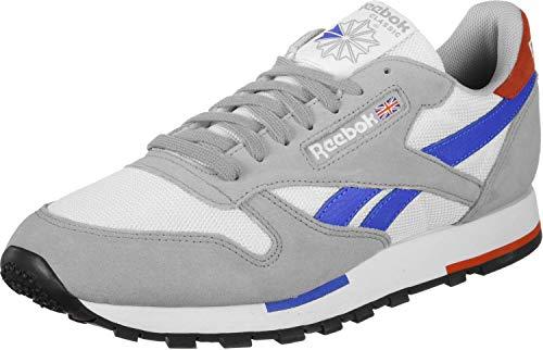 Reebok Sneaker CL Leather MU CN7036 Mehrfarbig White Gry Cobalt Organge Blk, Schuhgröße:43 Cl Sneaker