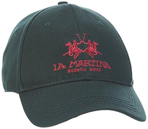 la-martina-herren-baseball-cap-twill-grun-darkest-spruce-03096-one-size-herstellergrosse-tu