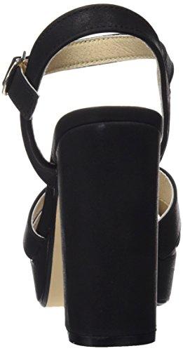 Refresh 64105, Sandales Bout Ouvert Femme Noir (Black)