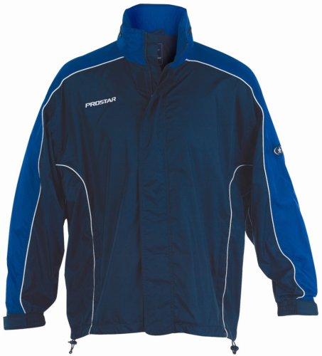 Preisvergleich Produktbild Prostar Hurricane Shower Jacke - Marineblau/Königsblau/weiß, Medium Youth