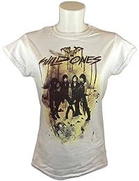 Black Veil Brides Official Wild Ones Ladies White T-Shirt