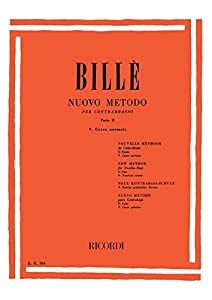 Billè: New Method for Double Bass - Volume 5 - Corso normale Part 2